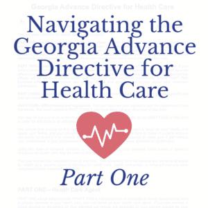 Georgia Advance Directive for Health Care 1