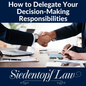 How to delegate decision-making responsibilities