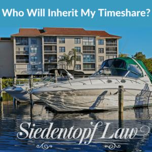 Who Will Inherit My Timeshare
