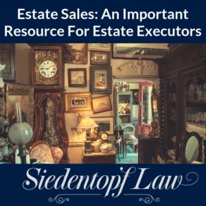 Estate Sales Resource Estate Executors