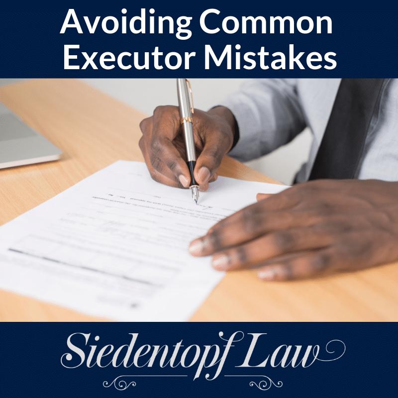 Avoiding Common Executor Mistakes