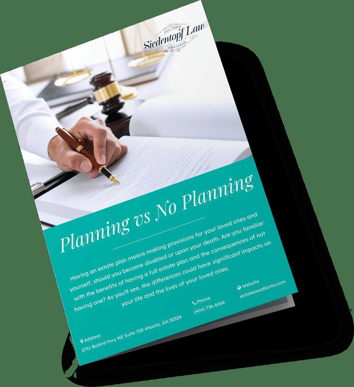 Planning vs No Planning