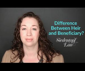 Heir vs Beneficiary 6.25.201